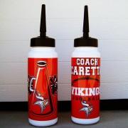 Bottles Vikings Cheer and Football