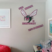 WallGraphic-Hornet1